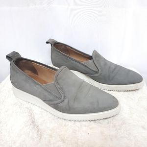 Everlane Italy The Nubuck Shoes Suede Grey